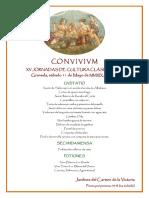 Convivium XV Jornadas Granada