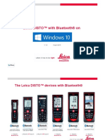 Leica Disto Bluetooth Getting Started on Windows 10 en(1)