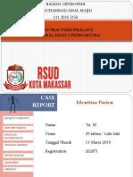 Jomet Ortho RS Kota Makassar 16 Maret 2019