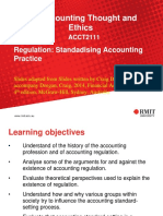 Regulation Standardising Accounting Practice