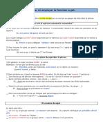 Langue 6ème - Le Sujet.docx