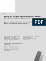 Análisis Dinámico de La Suspensión Pull-Rod y PuhsRod