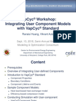 Vapcyc Workshop Component Development