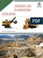 Proveedores de Palas en Minería Chilena Disertacion Planificacion Minera
