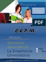 1-ELEMENTOS GENERALES DE LA ENSEÑANZA UNIVERSITARIA.pdf
