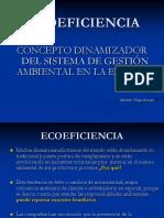 1. Ecoeficiencia, Gestión, SGA