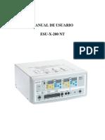 Manual Usuario TEC5500 Español