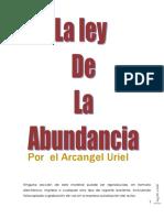La Ley de La Abundancia Del Arcangel Uriel Editado (1)