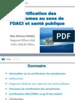 Aerodromes Certification