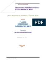 Plan de Desarrollo Informatico