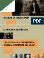 EL PROCESO TERAPÉUTICO PSP