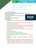 Peregrinación Franciscana de las Américas Laudato Si.docx