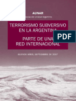 Terrorrismo en argentina
