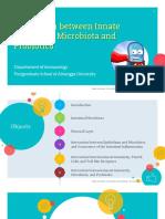 Innate Immunity, Microbiota and Probiotics