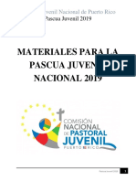 Pascua Juvenil Nacional 2019 - La Aventura de la Santidad, comienza con un Sí