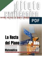1404-15 MATEMATICA La Recta del Plano.pdf