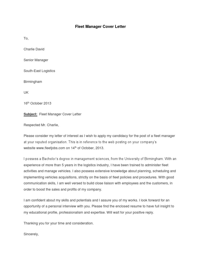 Mobi Descargar Fleet-Manager-Cover-Letter.docx