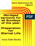 Abridged sermons for all Sundays of the year_ Preparation for Eternal Life - Saint Alphonsus M. Liguori.pdf