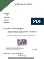 Diagnostico y Tratamiento de Leucemia Mieloide