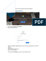 Panduan Upload Google Drive BKD UNM