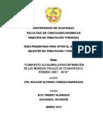 EL IMPUESTO AL CIGARRILLO Y SU CONTRIBUCION EN LOS INGRESOS FISCALES DE ECUADOR EN EL PERIODO 2007 2014.docx