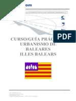 Curso_guía Práctica Urbanismo de Baleares Illes Balears - PDF