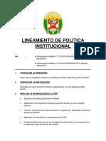 lineamientos policiales