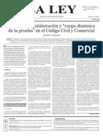 Principio de colaboración y carga dinámica de la prueba (La Ley).pdf