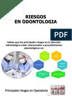 Riesgos en Odontología