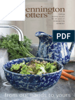 Bennington Potters 2018 Catalog