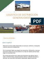 0. Logistica de Distribución Generalidades