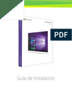 instalacion windows 10