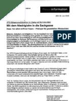 SPD Hamburg - Mit dem Niedriglohn in die Sackgasse