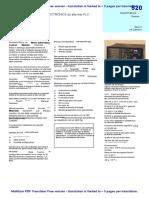DSE520 Data Sheet Español