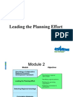 Leading the Planning Effort