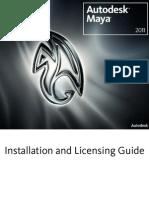 Maya Installation Licensing Guide
