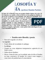 FILOSOFÍA Y POESÍA (Profesor Damián Pachón)