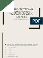 PPT Faktor Transmisi Agen Infeksius