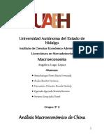 Analisis Macroeconomico China
