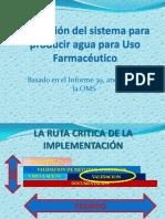 Validacion Agua Grado Farmaceutico