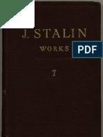 J V Stalin - Works