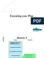 Executing Your Plan