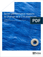 Seven Performance Reasons to Change to a C10 Plasticizer