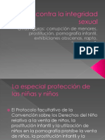 (II) Delitos Contra La Integridad Sexual