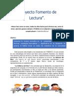 Proyecto Fomento de Lectura OK  3.0.docx
