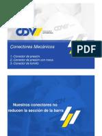 Conectores mecánicos cdv
