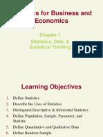 QBA 282 Statistics Syllabus