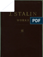 J V Stalin - Works Volume 11