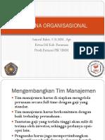Rencana Organisasional Umm