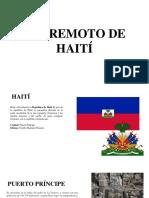 Haiti E Incendio Torre Avianca